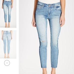 Revolve Pistola Audrey Skinny Ankle Jeans Cropped